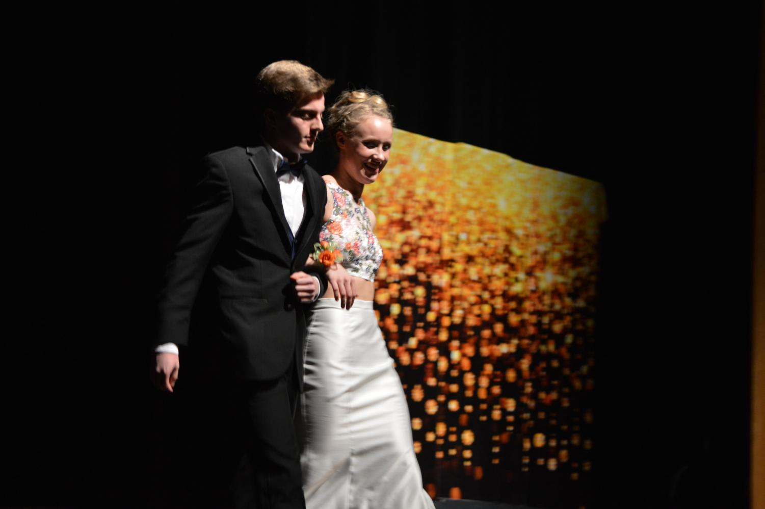 """Come to the Prom Fashion Show on Jan. 26 at 7 p.m for only $10. Prom Fashion show is Key Club's largest event and raised a lot of money for the March of Dimes last year. """"Prom Fashion Show is an event that benefits the March of Dimes, an organization the helps women with prenatal care and premature babies,"""" co-committee chair Virginia Babcock said. Photo courtesy of Zoe Huff."""