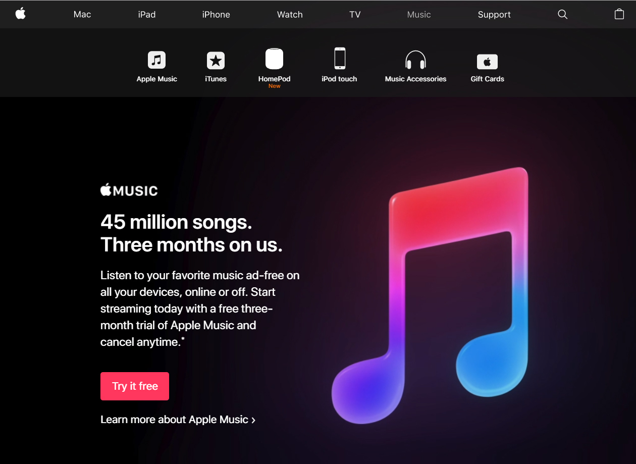 "Apple Music is easy to use. Although paying that much is a down side. ""Apple music is simple to use and control,"" sophomore Cameron Bear said."