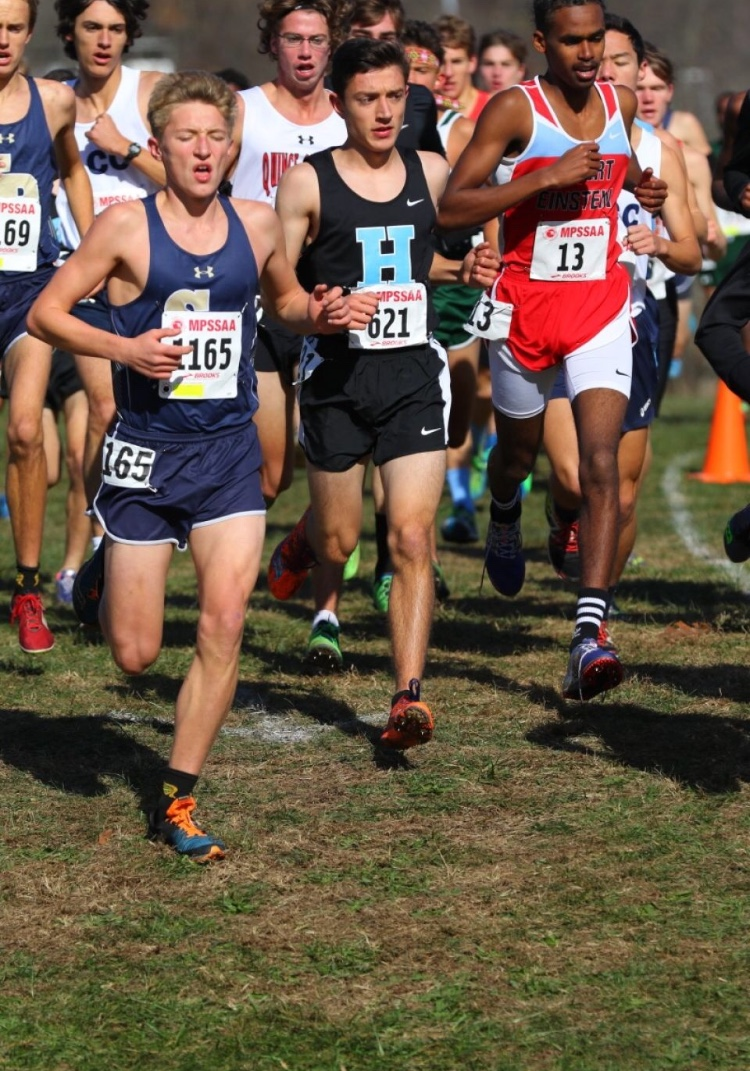 "Garrison Clark is sweeping the competition all through Anne Arundel County. Clark has became one of the fastest in the county and qualified for nationals in the Nike Cross Southeast Regionals. ""It takes time and work to get better, but it's fun,"" Clark said. Photo courtesy of  Garrison Clark."