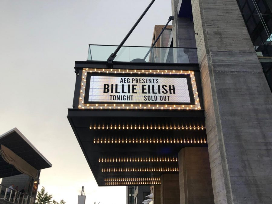Billie+Eilish%2C+writer+and+singer+of+%E2%80%9Cbad+guy%E2%80%9D%2C+plays+a+concert+in+the+Anthem+venue+in+Washington+D.C.+While+her+tour+passed+through+the+DMV+in+June%2C+many+Severna+Park+residents+attended+the+concert.+%E2%80%9CBillie+was+such+an+amazing+performer%2C+and+her+songs+sounded+even+better+live%2C+in+front+of+a+sold-out+audience%2C%E2%80%9D+senior+Maddy+Gillin+said.+