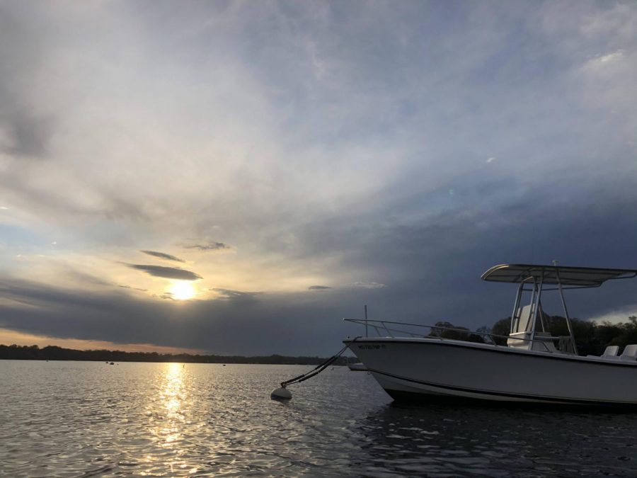 """Boats are staying tied up to their moorings this spring. Governor Hogan's stay at home order banned recreational boating and frustrated boaters across the state. """"The amount of times I have had to pass up a boat ride when the river was glass is disgusting,"""" junior Holden Tatem said."""
