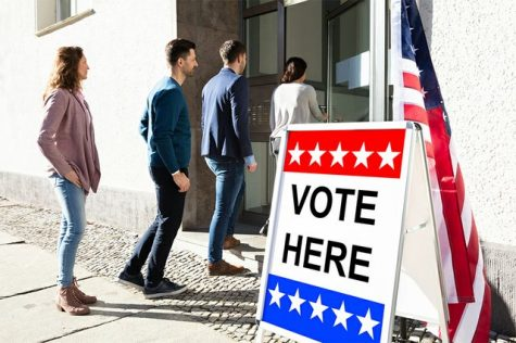 """Voting from home has proven to have many faults. Security has been talked about a lot, with many people worrying. """"How secure can it be? I feel like it does nothing to prevent fraud or anything like that,"""" senior Karl Schultz said."""