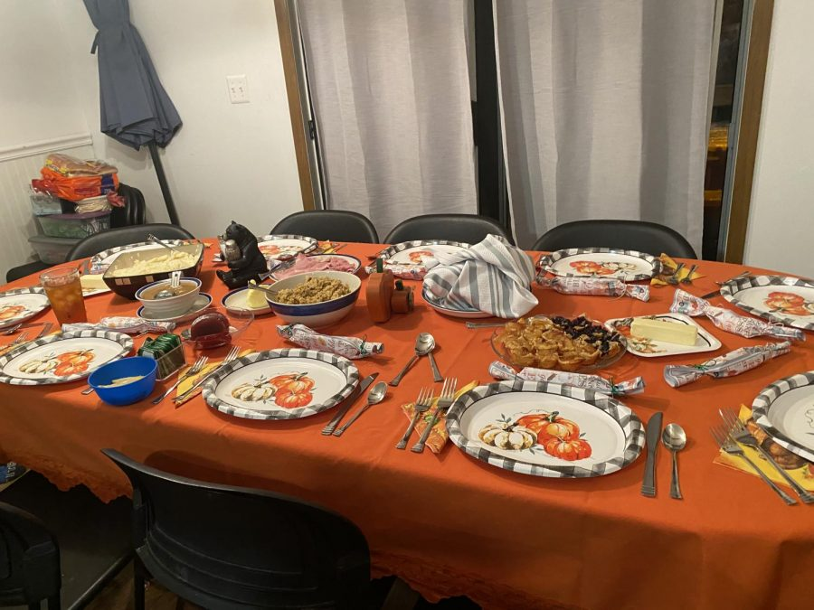 Thanksgiving looked different for many students this year,