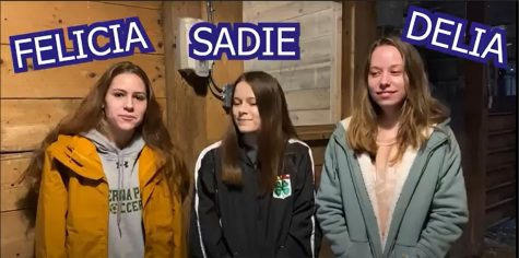 Three students, and siblings, that are members of the local 4-H club, had the opportunity help a local inhabitant of Kinder Farm, give birth.