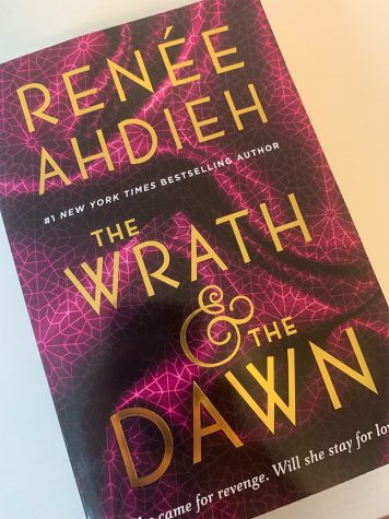 """One of the available front covers for """"The Wrath and the Dawn."""" This is only one of multiple beautifully designed covers available. Readers can buy the book with either this cover, or whichever other preferred at your local Barnes and Noble."""