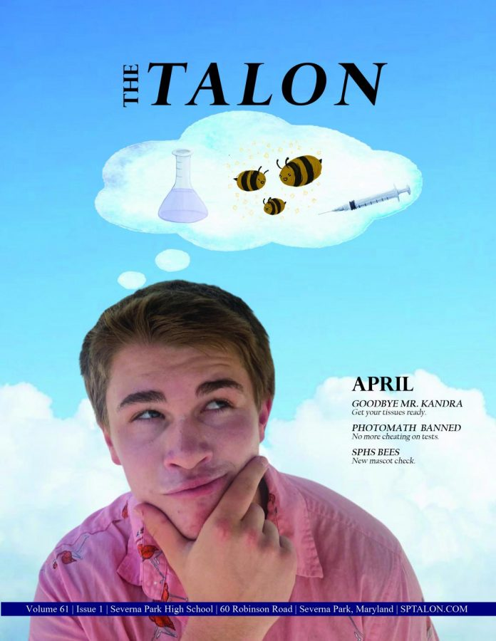 The first printed issue of the Talon since May of 2020 hit English classrooms and online right before spring break began on March 30.