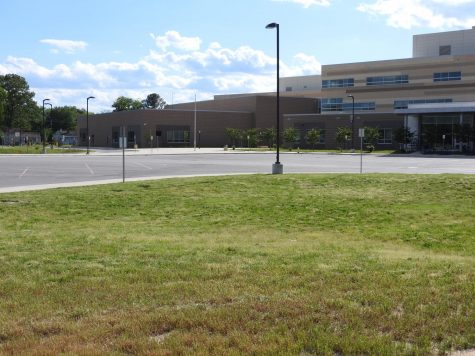 It has almost been a year since SPHS went virtual due to COVID and the high school has been pretty lifeless and empty. With teachers back in the building and students returning soon this empty parking lot and school will be busy and bustling again.