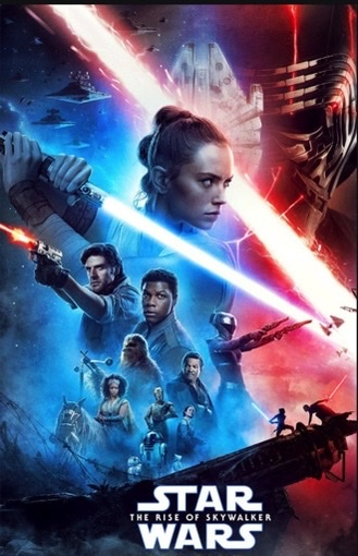 """""""Star Wars: The Rise of Skywalker"""" available to stream on the platform Disney+. The movie was released on Dec. 20, 2019."""