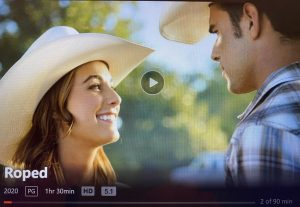 When you sit down on your couch Friday night to enjoy a good cowboy romance, just know you might not be ready for the cringe factor this one entails. It is one of those movies that is so bad it is good. Unless you like basic Hallmark movies, then it might just be good. Anyways sit back, relax and get ready for one hour and thirty minutes of your life you will not get back.