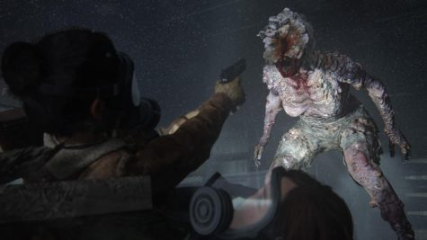 """One of the few classes of infected depicted in """"The Last of Us Part II,"""" a clicker is an individual who has been infected for at least one year. Clickers are blind due to the fungus sprouting from their head so they rely on their hearing, similar to bats."""