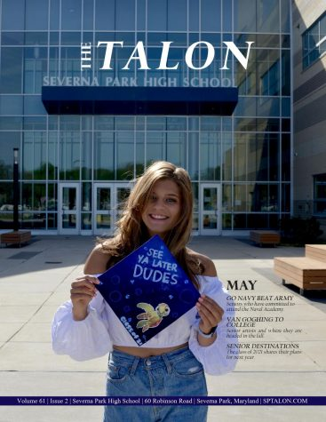 May print edition of the Talon (Senior Edition) includes the class of 2021 destination pages.