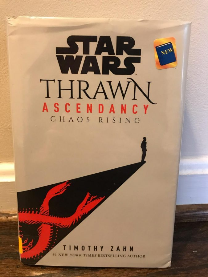 One of Anne Arundel County Public Library's (AACPL) copies of the book is seen in the photo above, which one can check out using their library card. The book kicked off with a bang, since one of the worlds in the Ascendancy was attacked. Thrawn was the Chiss in charge of figuring out why it happened and who was responsible for the attack, and the reader was led through his investigations.