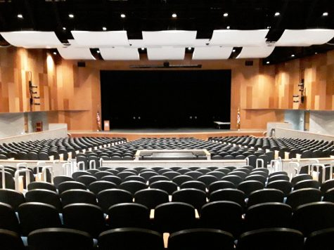 """The Severna Park High School auditorium has held the school's past musicals such as Mamma Mia and Cinderella, and Freaky Friday will set the stage on Nov. 12-14 and Nov. 19-20, 2021. """"The first week of November we're here every night pretty late, working hard,"""" drama department director Angela Germanos said."""
